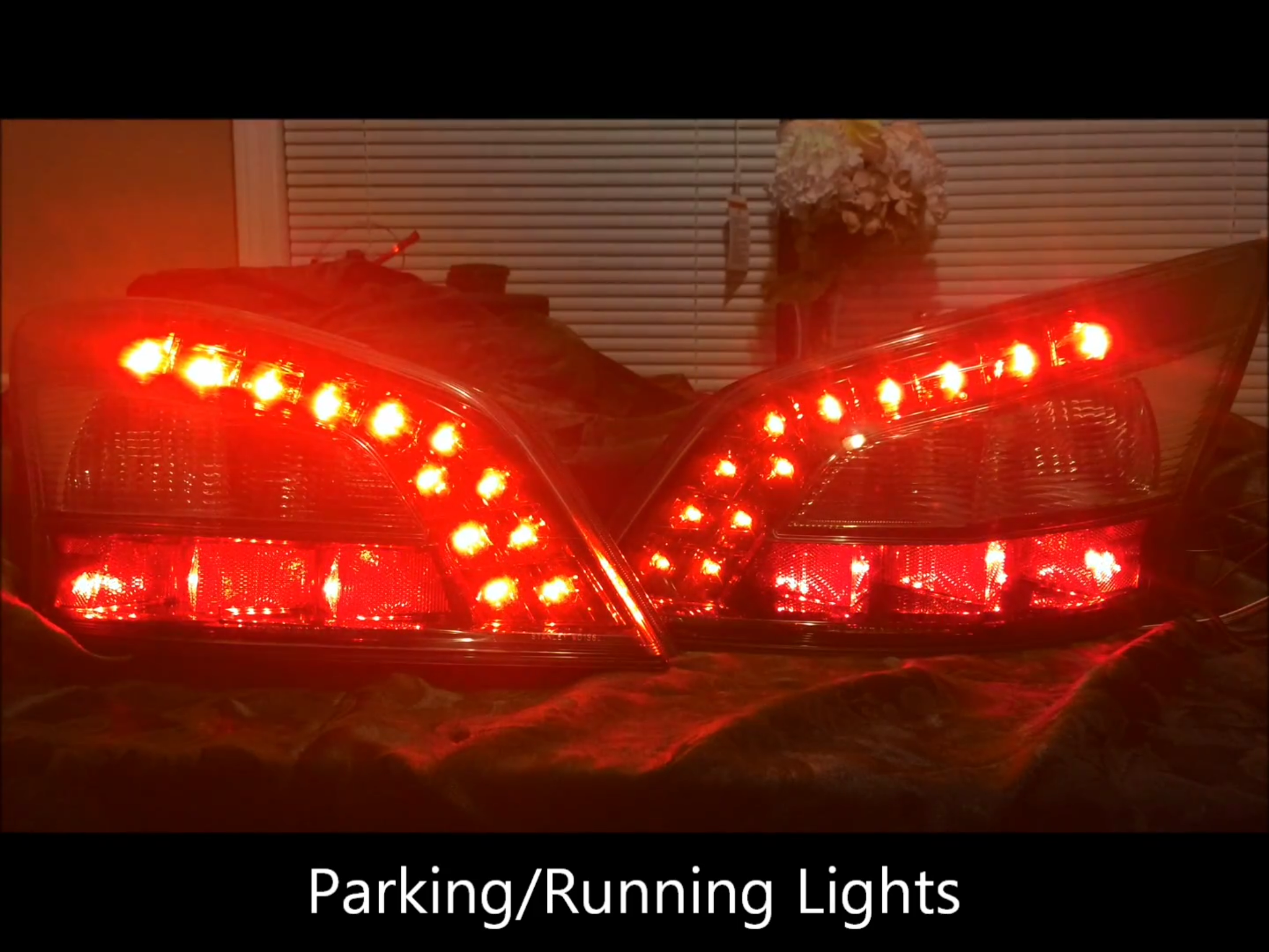 09 14 Nissan Maxima Ghozt Tail Lights